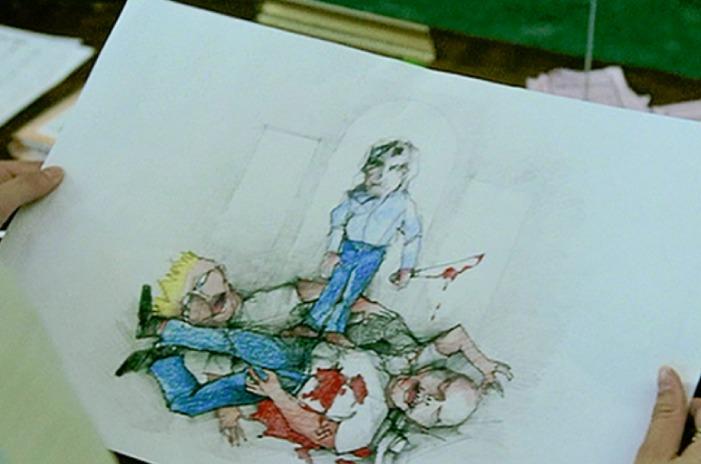 バタフライエフェクト『エヴァンが小さい頃に書いた絵の意味』