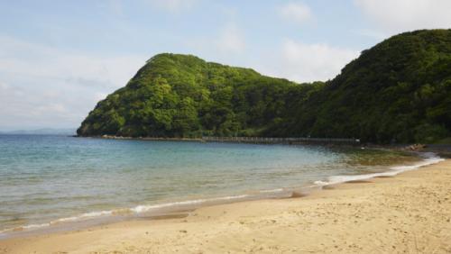 佐世保の海水浴場
