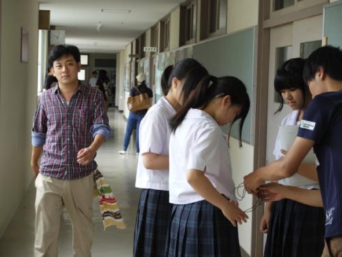 富山県立泊高等学校