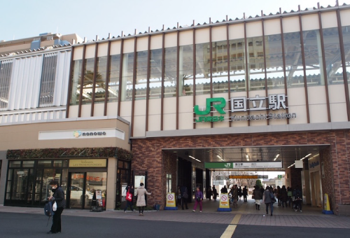 四月の永い夢ロケ地『国立駅』
