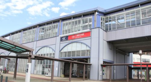 BLEACHブリーチロケ地『三郷中央駅』