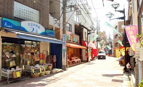 ママレードボーイロケ地『川島商店街』