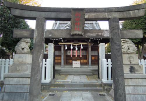 恋は雨上がりのようにロケ地『新田神社』