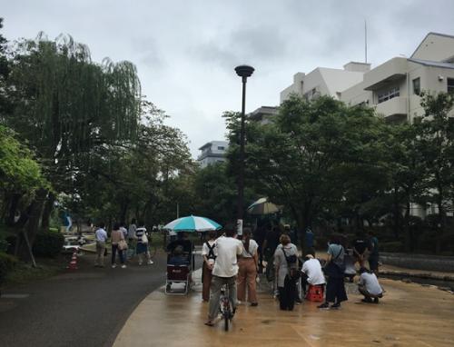 有罪ロケ地『大横川親水公園』