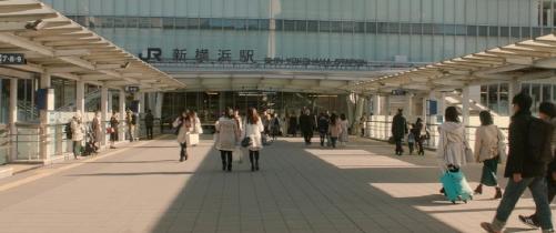 ママレードボーイロケ地『新横浜駅』