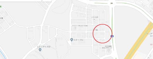 空飛ぶタイヤロケ地『つくばみらい市富士見ヶ丘2丁目』