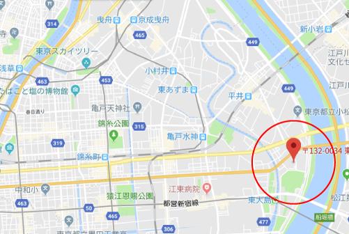 春待つ僕らロケ地『セブンイレブン江戸川小松川2丁目店』