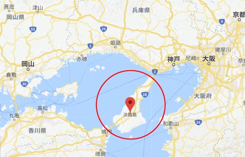 引っ越し大名ロケ地『淡路島グーグルマップ』