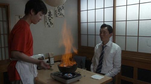 炎の酒鍋セットファイヤーパフォーマンス