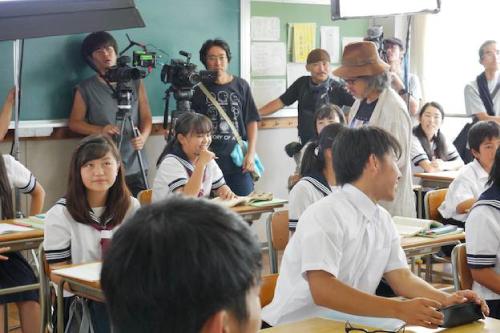 明日にかける橋ロケ地『袋井商業高校教室』