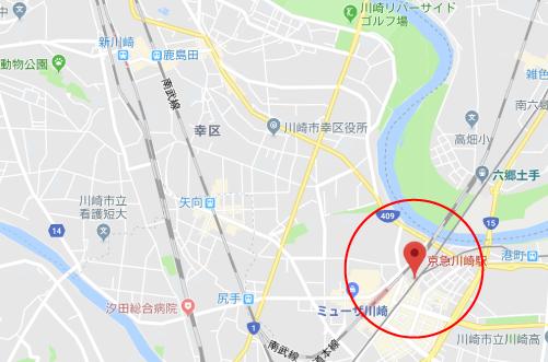 ニセコイロケ地『京急川崎駅』