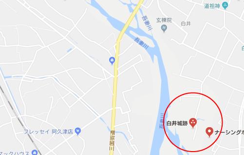 まく子ロケ地『白井城跡』