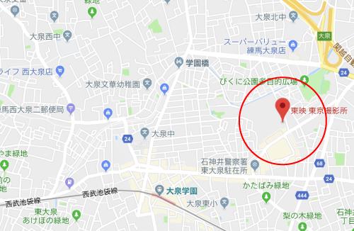 ギャングースロケ地『東映東京撮影所』