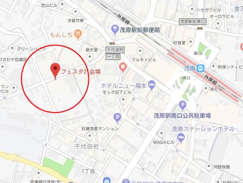 チアダンロケ地『千葉県茂原市 フェスタ21会場』