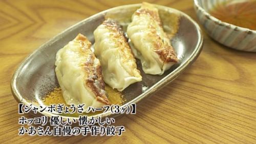 五郎セレクション『ジャンボぎょうざハーフ(3ヶ)』