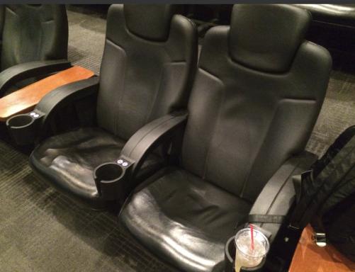イオンシネマ多摩センターのバルコニー席