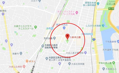 絶対零度シーズン3ロケ地『入新井公園』