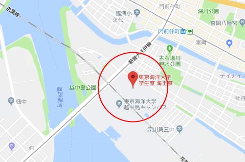 ザ・ファブルロケ地『東京海洋大学 学生寮 海王寮』
