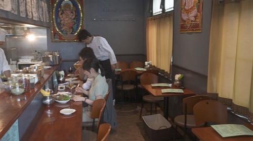 孤独のグルメ江東区木場『インド料理タンドールバルカマルプール』店内