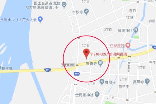 愛しのアイリーンロケ地『ご近所食堂金子屋グーグルマップ』