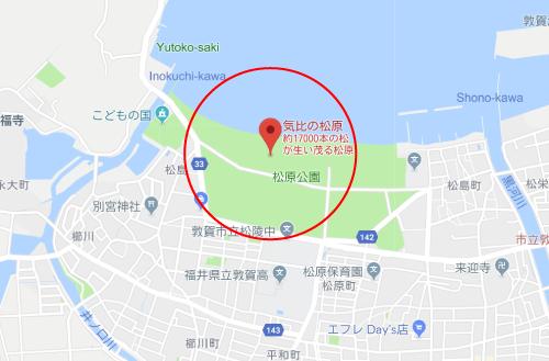 チア☆ダンロケ地『気比の松原』