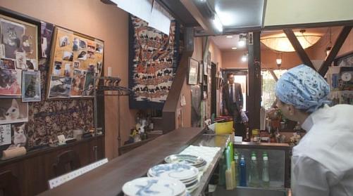 孤独のグルメ台東区『まめぞ』店内