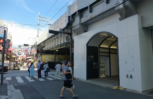 ハゲタカロケ地『御徒町駅』