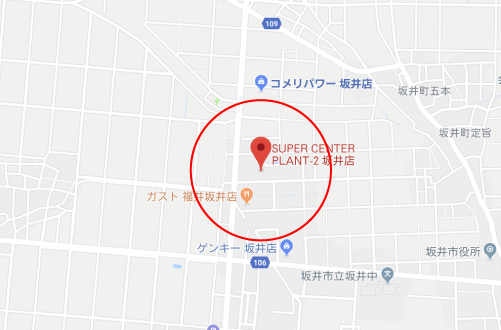 チア☆ダンロケ地『スーパーセンタープラント2坂井店』