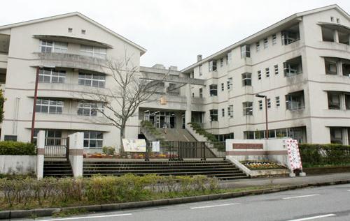 チア☆ダンロケ地『茂原市立西陵中学校』