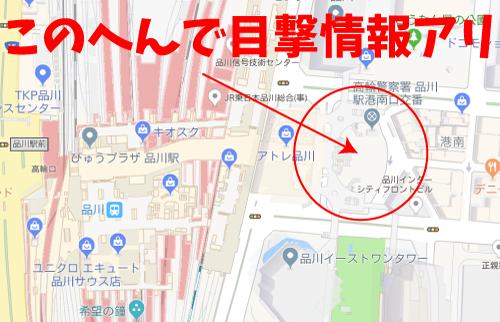 ハゲタカロケ地『品川駅港南口広場』