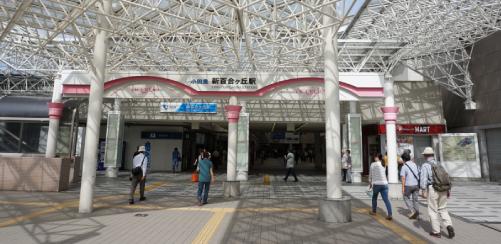 チアダンロケ地『新百合ケ丘駅前』
