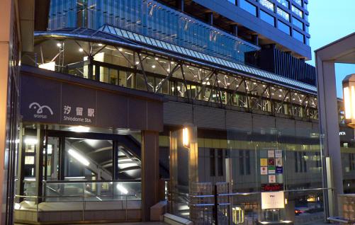 ハゲタカロケ地『汐留駅』