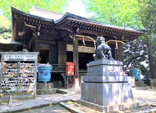 高嶺の花ロケ地『諏訪神社』