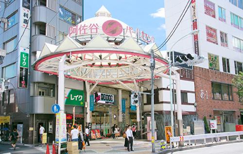 サバイバル・ウェディングロケ地『>阿佐谷パールセンター商店街』