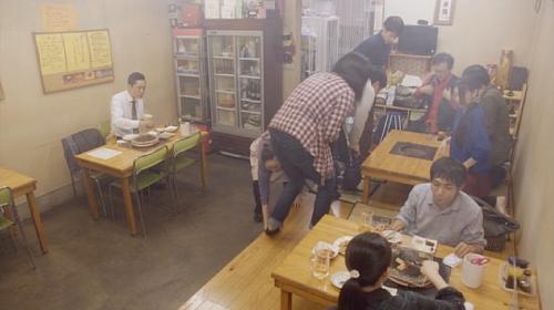 孤独のグルメ川崎市稲田堤『焼肉寿苑』店内