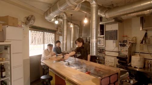 孤独のグルメ世田谷区千歳船橋『ジンギスバルまーさん』店内