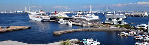 いつかこの雨がやむ日までロケ地『横浜大さん橋』
