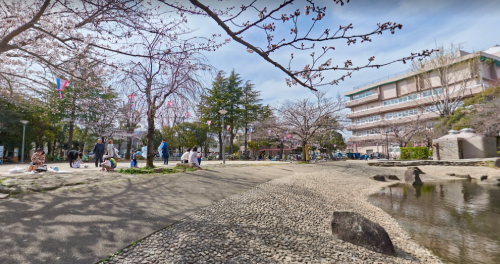 ヒモメンロケ地『小松川境川親水公園』