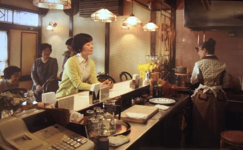 パンとスープとネコ日和ロケ地『喫茶店ハッピーは贋作インドカリーマシバシイネツルカモ』