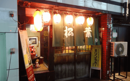喝風太郎ロケ地『串かつ松葉(静岡県)』