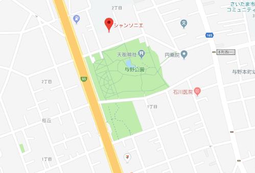 Heaven?ご苦楽レストランロケ地『与野公園』