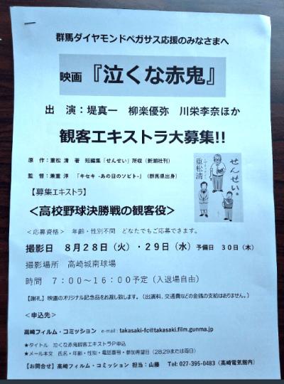 泣くな赤鬼ロケ地『高崎城南球場』