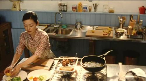素敵だったかもめ食堂の店内『キッチン』