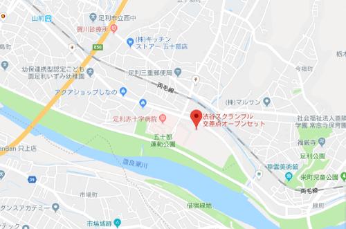 唐人街探案3ロケ地『渋谷スクランブル交差点オープンセット地図』